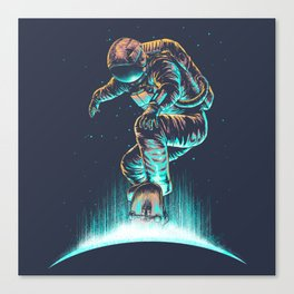Space Grind Canvas Print