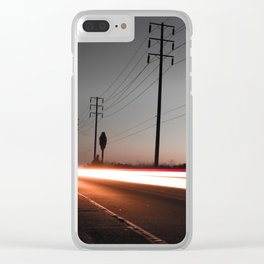 Time Lapse 1 Clear iPhone Case