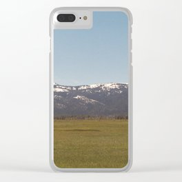 Calling You Back Clear iPhone Case