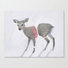 Poor Bambi Canvas Print