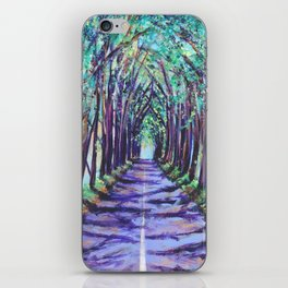 Kauai Tree Tunnel iPhone Skin