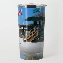 Welcome To Siesta Key Beach Travel Mug