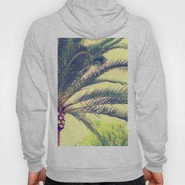 Summer feeling, palm trees in the south Hoody