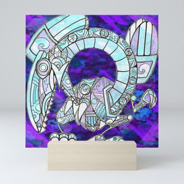 Blue Eyes Salvi Dragon Mini Art Print