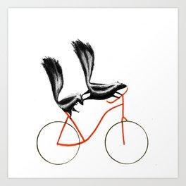 Reason NINE for using bike: Art Print