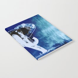 Elephant (blue version) Notebook