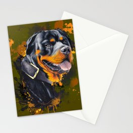 Rottweiler Stationery Cards