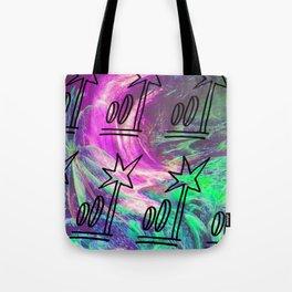 Jungle Glitch Tote Bag