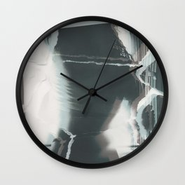 Broken window 2 Wall Clock