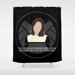 Agents of S.H.I.E.L.D. - Simmons Shower Curtain