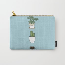 Plants N Coffee Carry-All Pouch
