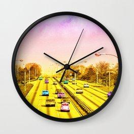 All American freeway Wall Clock