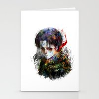 snk Stationery Cards featuring strongest by ururuty