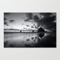 racing Canvas Prints featuring Racing Sky by Cameron Booth