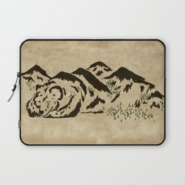 Sleepy Bear Mountain Laptop Sleeve