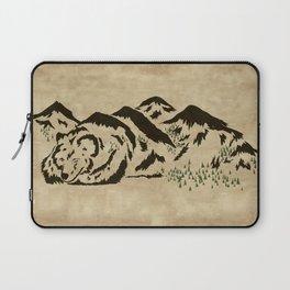 Sleepy Bear Mountain Laptop Sleeve