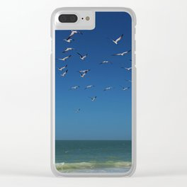 Come Fly with Me Clear iPhone Case