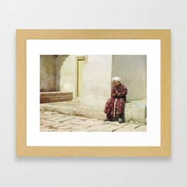 Lost Boy Framed Art Print