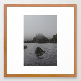 Trinidad Rock  Framed Art Print