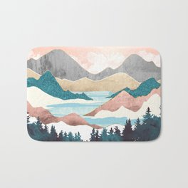 Lake Sunrise Bath Mat