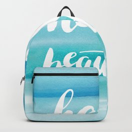 Hello Beautiful Waves Backpack
