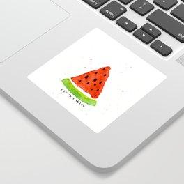 One in a melon Sticker