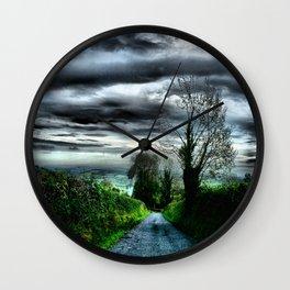Irish Skies Wall Clock