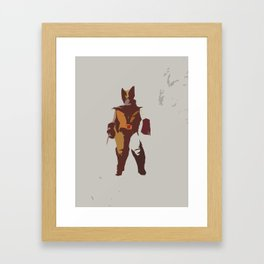 Logan Brown & Tan Framed Art Print