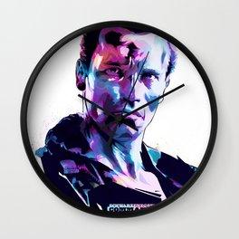 Arnold Schwarzenegger: BAD ACTORS Wall Clock