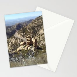 Road to the Desert Mountain Stationery Cards