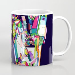 Transformer in pop art Coffee Mug
