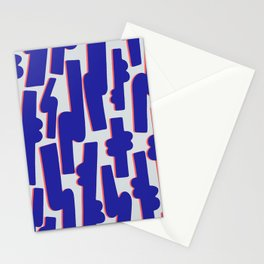 Blue Candy Stationery Cards