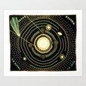 Solar System quilt by Ellen Harding Baker (1886) by brainpicker