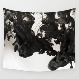 Ink #abstract #black Wall Tapestry