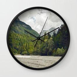 Le silence des cailloux Wall Clock