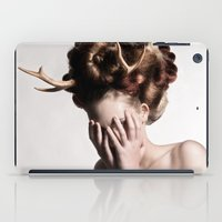 antler iPad Cases featuring ANTLER by MCGRORY