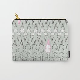 Two Scoops Mint Ice Cream Carry-All Pouch