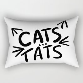 Cats & Tats Rectangular Pillow