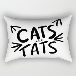 Cats & Tats Rectangular Pillow
