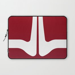 Striped Tomato Laptop Sleeve