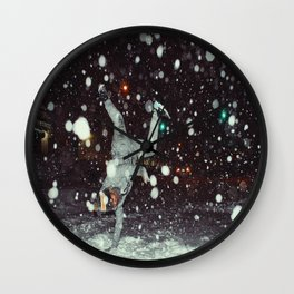 BBoy Rebels x Nyc Blizzard 2016 Wall Clock