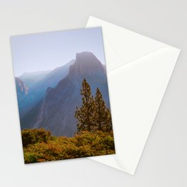 Half Dome at Yosemite National Park Stationery Cards