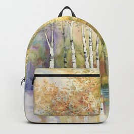 Lazy Day on Swan Lake Backpack
