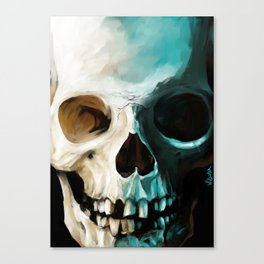 Skull 14 Canvas Print