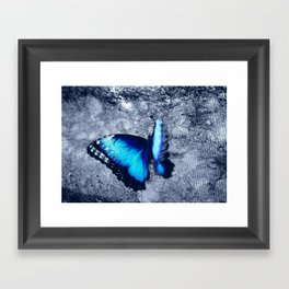 Blue Picture Perfect Framed Art Print