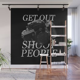Photography Puns Wall Mural