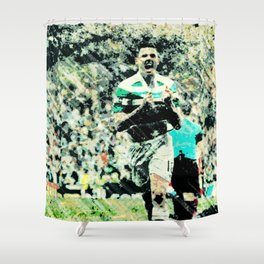 Rogic Roars Into Invincibles Shower Curtain