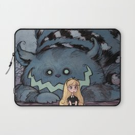 Alice and the Cheshire Cat Laptop Sleeve
