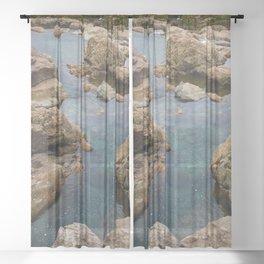 Fairy Pools, Skye Sheer Curtain