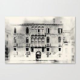 Venice - Study 38 Canvas Print